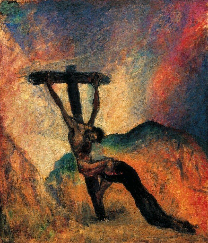 Berény Róbert: Krisztus a kereszten
