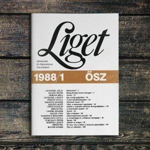 LIGET FOLYÓIRAT | 1988 ŐSZ