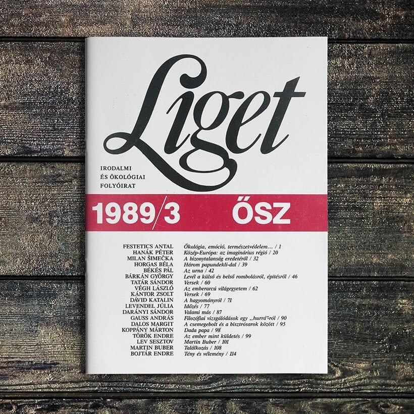 LIGET FOLYÓIRAT | 1989 ŐSZ