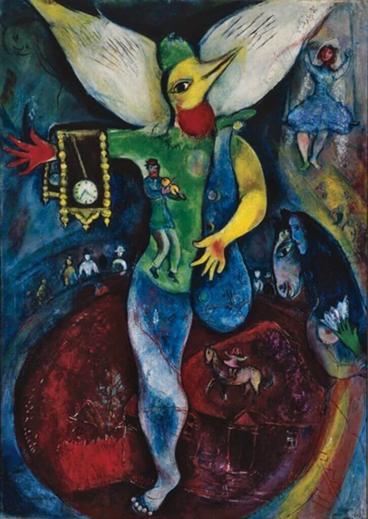 Marc Chagall: Zsonglőr