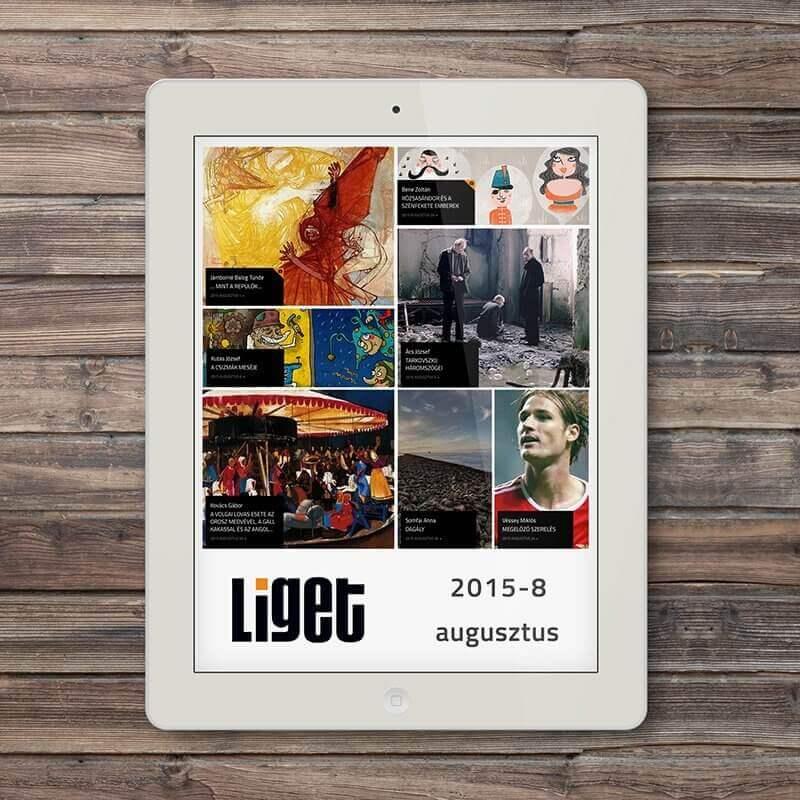 LIGET FOLYÓIRAT | 2015 AUGUSZTUS