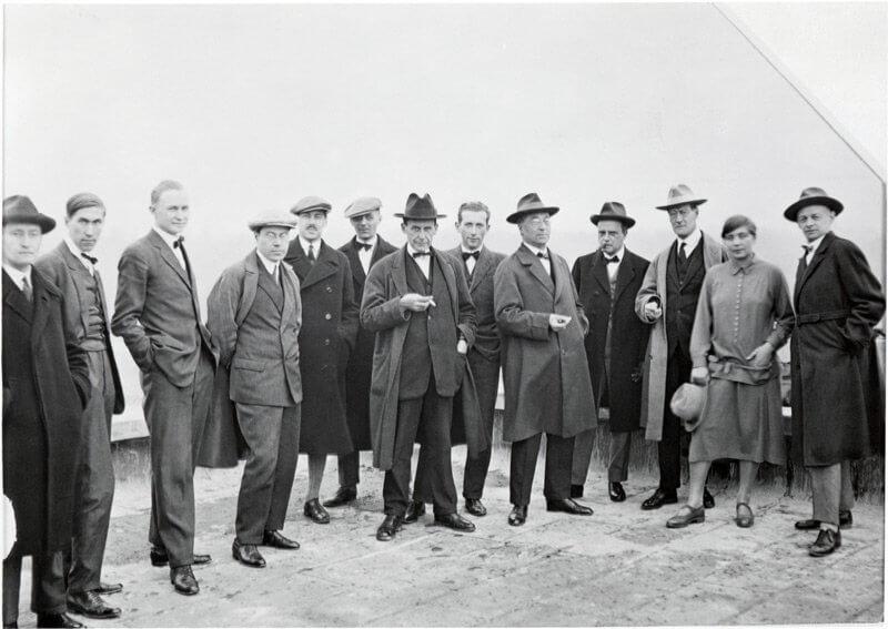 Walter Gropius és a Bauhaus csoport