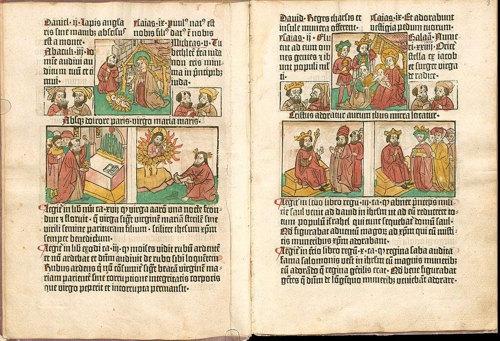 Biblia Pauperum (1462/1463)