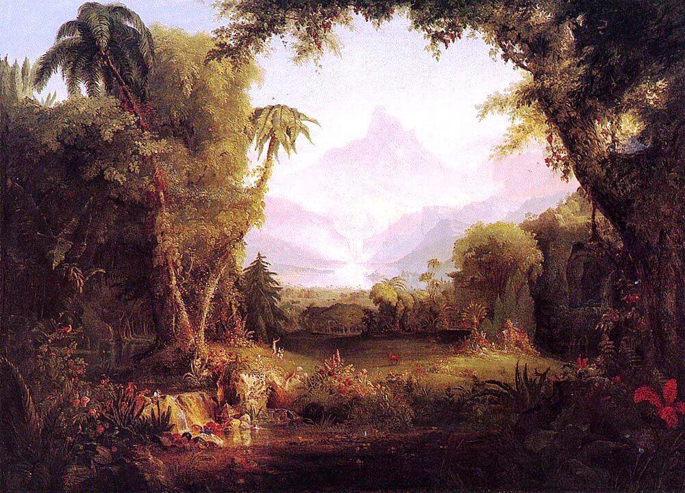 Thomas Cole: Édenkert (1828)