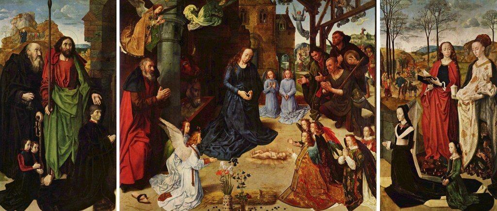 Hugo van der Goes: Portinari oltárkép (1476–78)