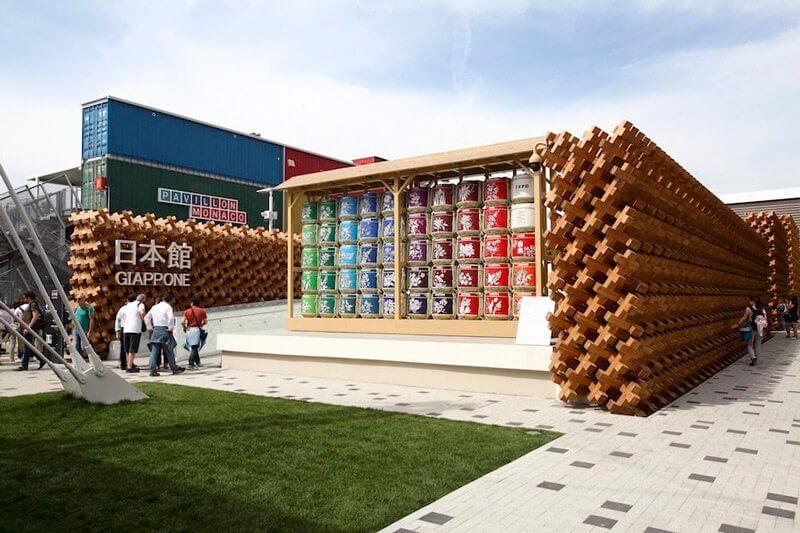 Japán pavilon, archipanic.com