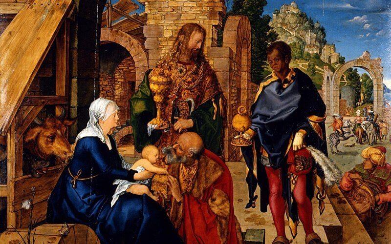 Albrecht Dürer: A Háromkirályok imádása