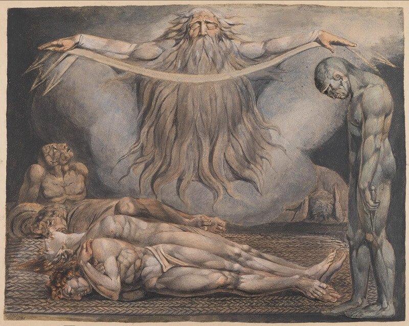 William Blake: A halál háza, tate.org.uk