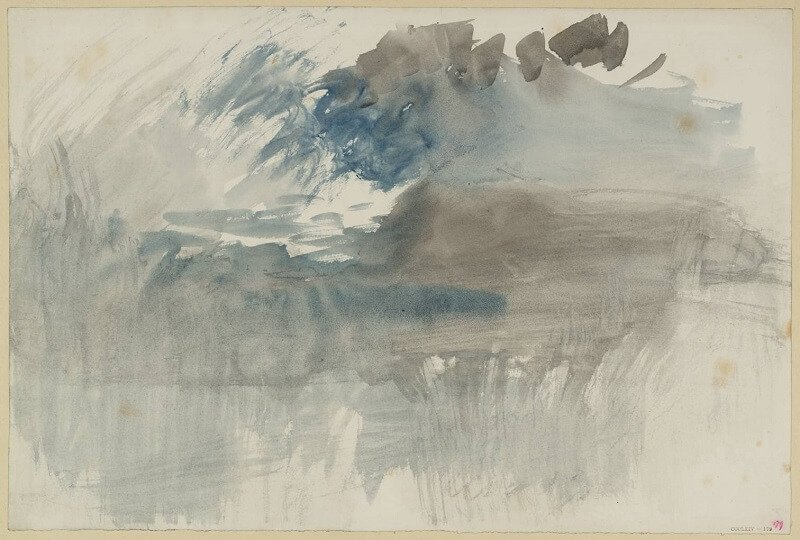 A Storm over the Rigi circa 1844 Joseph Mallord William Turner 1775-1851 Accepted by the nation as part of the Turner Bequest 1856 http://www.tate.org.uk/art/work/D36023