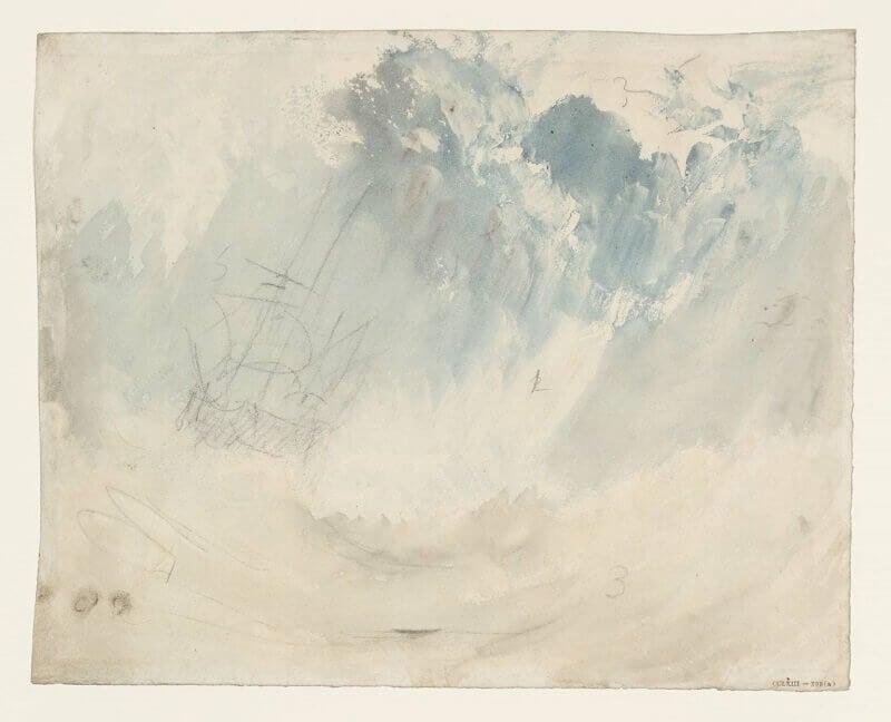 Joseph Mallord William Turner: Hajó viharban, tate.org.uk