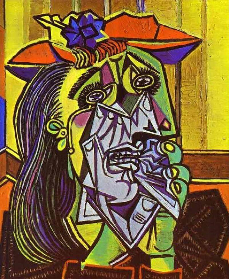 Pablo Picasso: Síró nő, pablo-ruiz-picasso.net