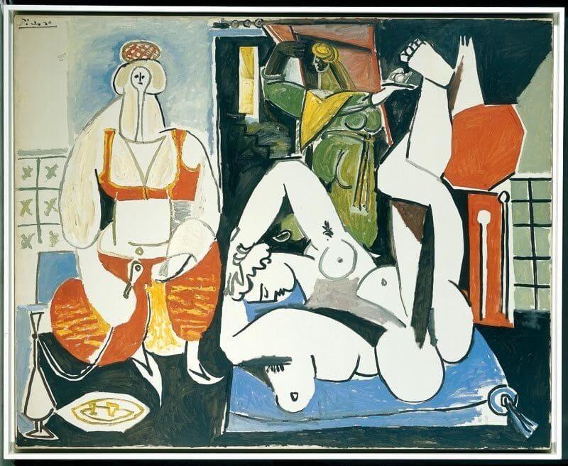 Pablo Picasso: Algíri nők, pablo-ruiz-picasso.net