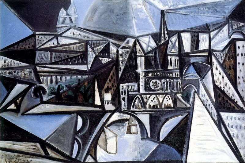Pablo Picasso: A párizsi Notre-Dame látképe, pablo-ruiz-picasso.net