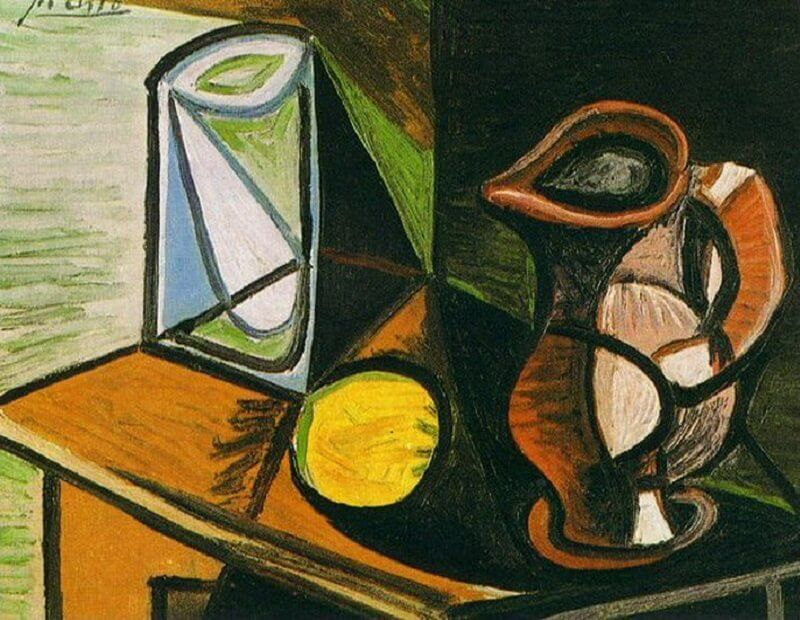 Pablo Picasso: Váza és kancsó, pablo-ruiz-picasso.net