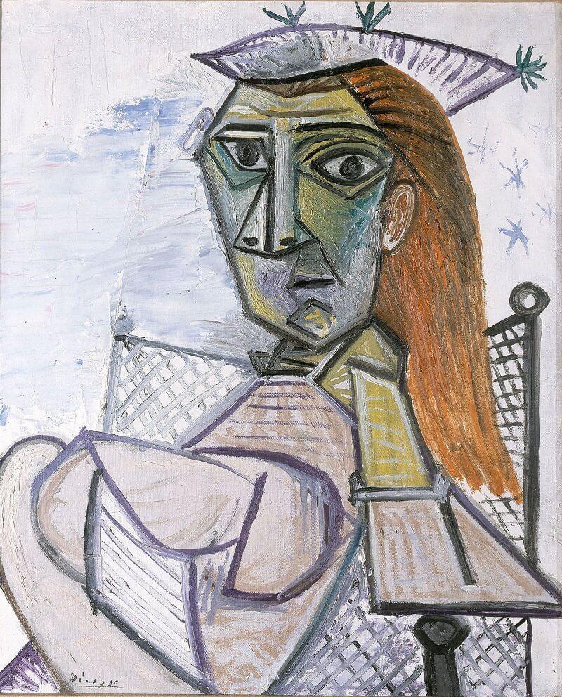 Pablo Picasso: Nő karosszékben, bloomberg.com
