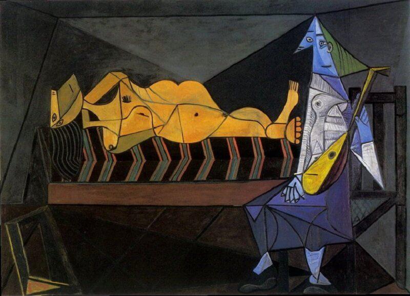 Pablo Picasso: Szerenád, pablo-ruiz-picasso.net