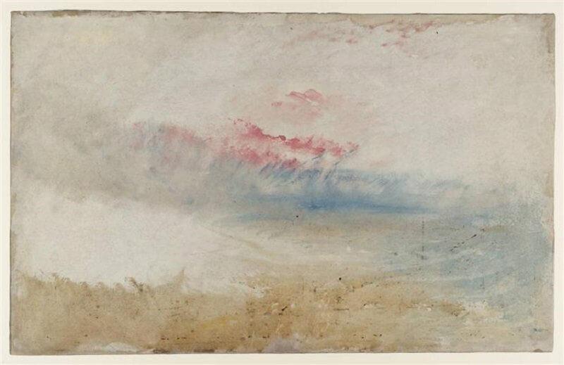William Turner: Vörös ég a tenger felett, wikiart.org