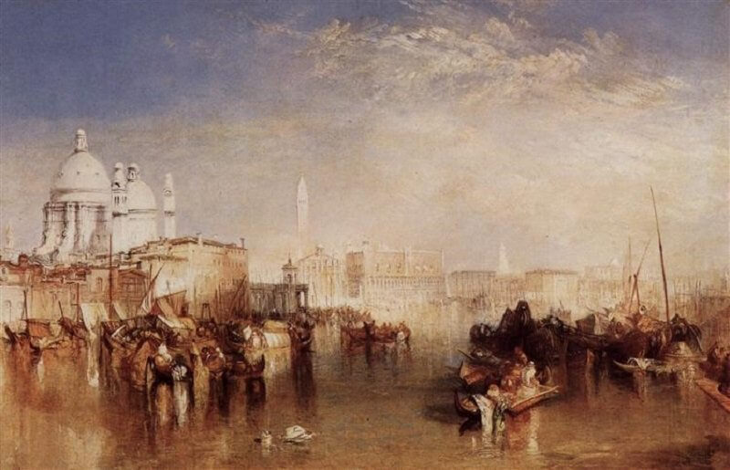 William Turner: Velence a Giudecca csatorna felől, wikiart.org