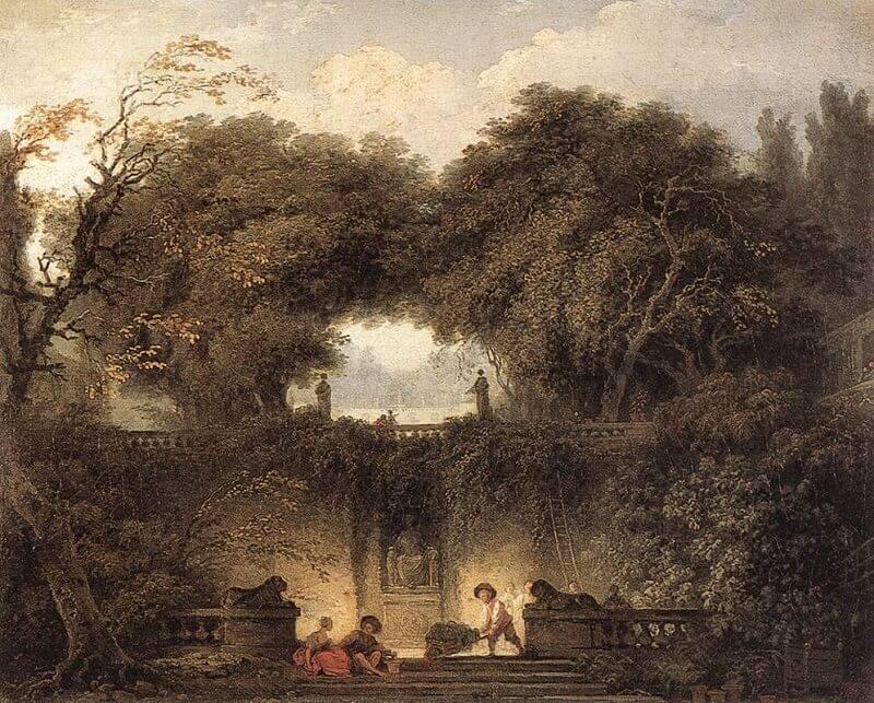 Jean-Honoré Fragonard: A kis park, wikipedia.com