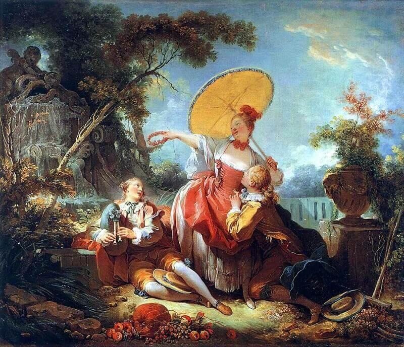Jean-Honoré Fragonard: Zenei verseny, wikipedia.com