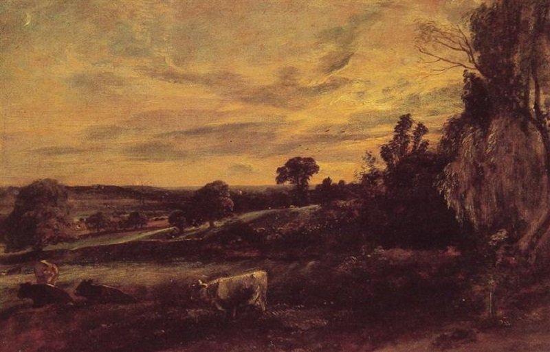 John Constable: Esti tájkép, wikiart.org