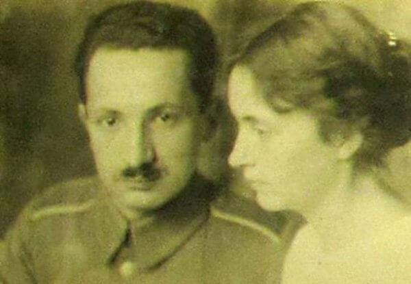 Heidegger és Elfride 1917-ben (panathinaeos.wordpress.com)