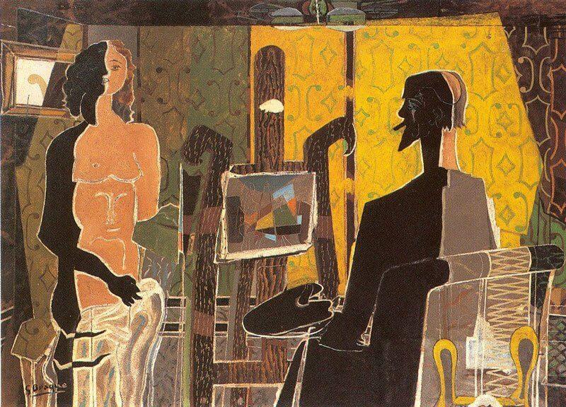 Georges Braque:: Festő akt, writedesignonline.com