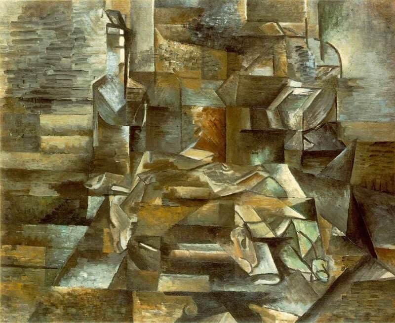 Georges Braque: Palackok és halak, wikiart.org