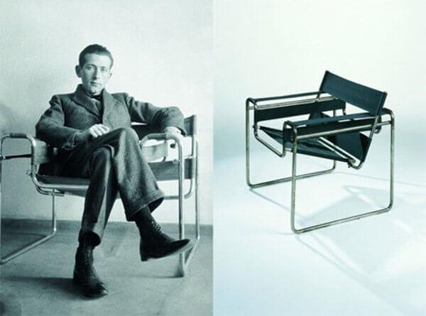 Breuer Marcell és a Vaszilij-szék