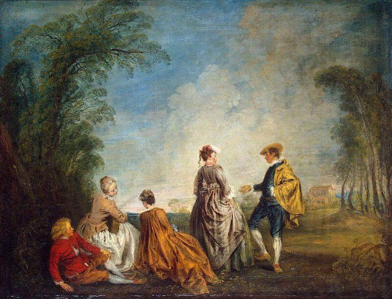 Jean-Antoine Watteau: Zavarbaejtő ajánlat, wga.hu