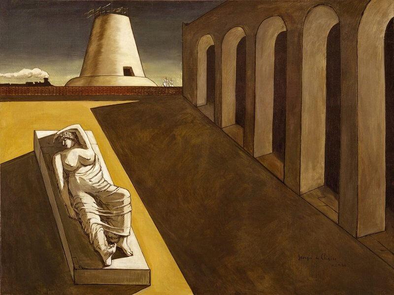 Giorgio De Chirico: Tér Ariadnéval