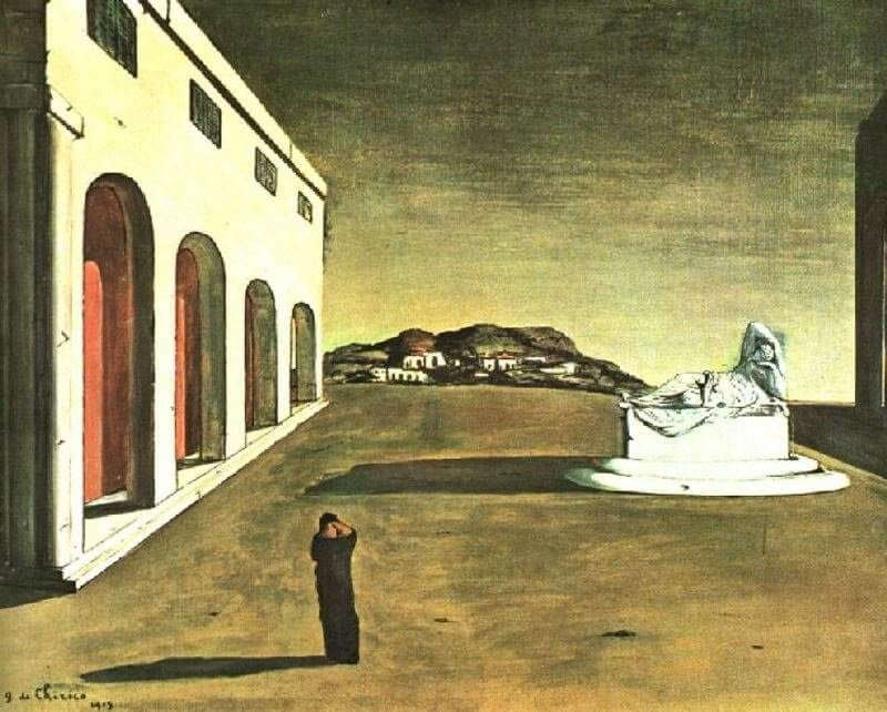 Giorgio De Chirico: Egy gyönyörű nap melankóliája