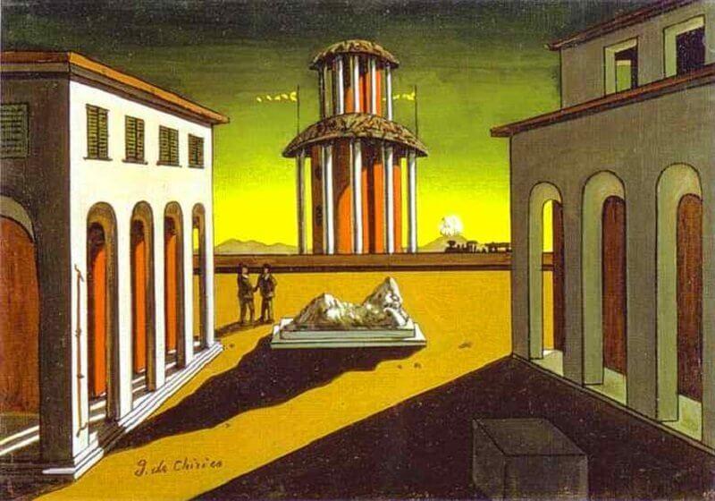 Giorgio De Chirico: Olasz piazza