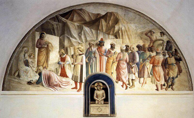 Fra Angelico freskója a San Marco kolostorban