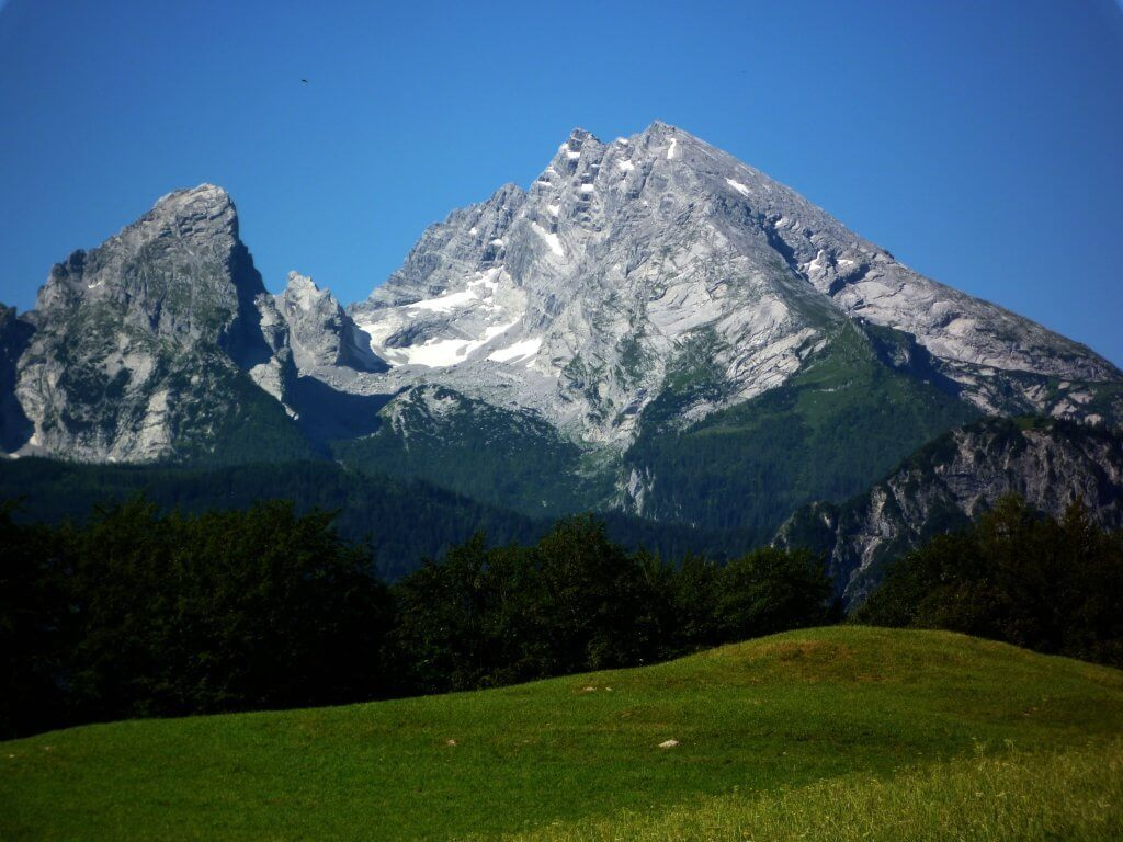 Berchtesgaden,  Watzmann-gleccser