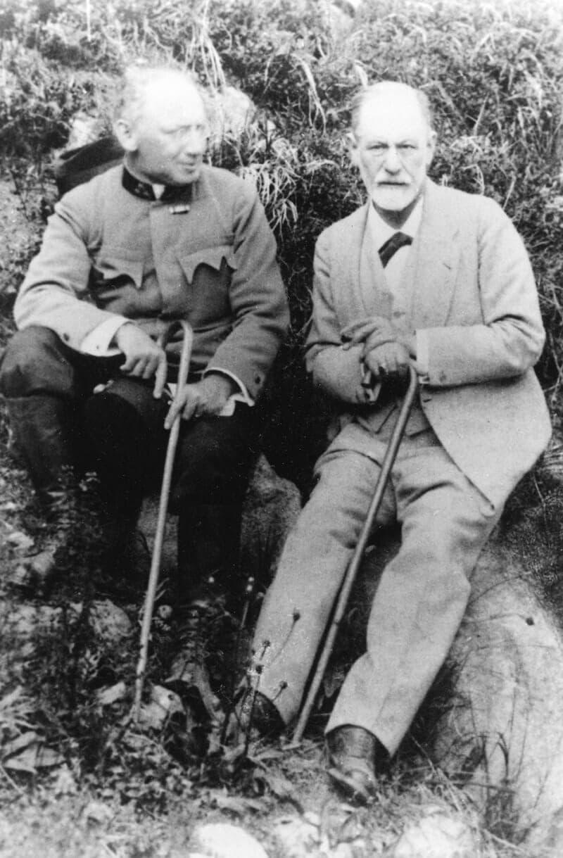 Freud és Ferenczi, ildeutschitalia.com