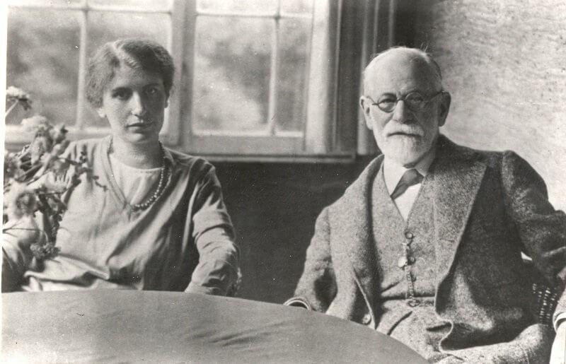 Anna és Sigmund Freud, imgkid.com