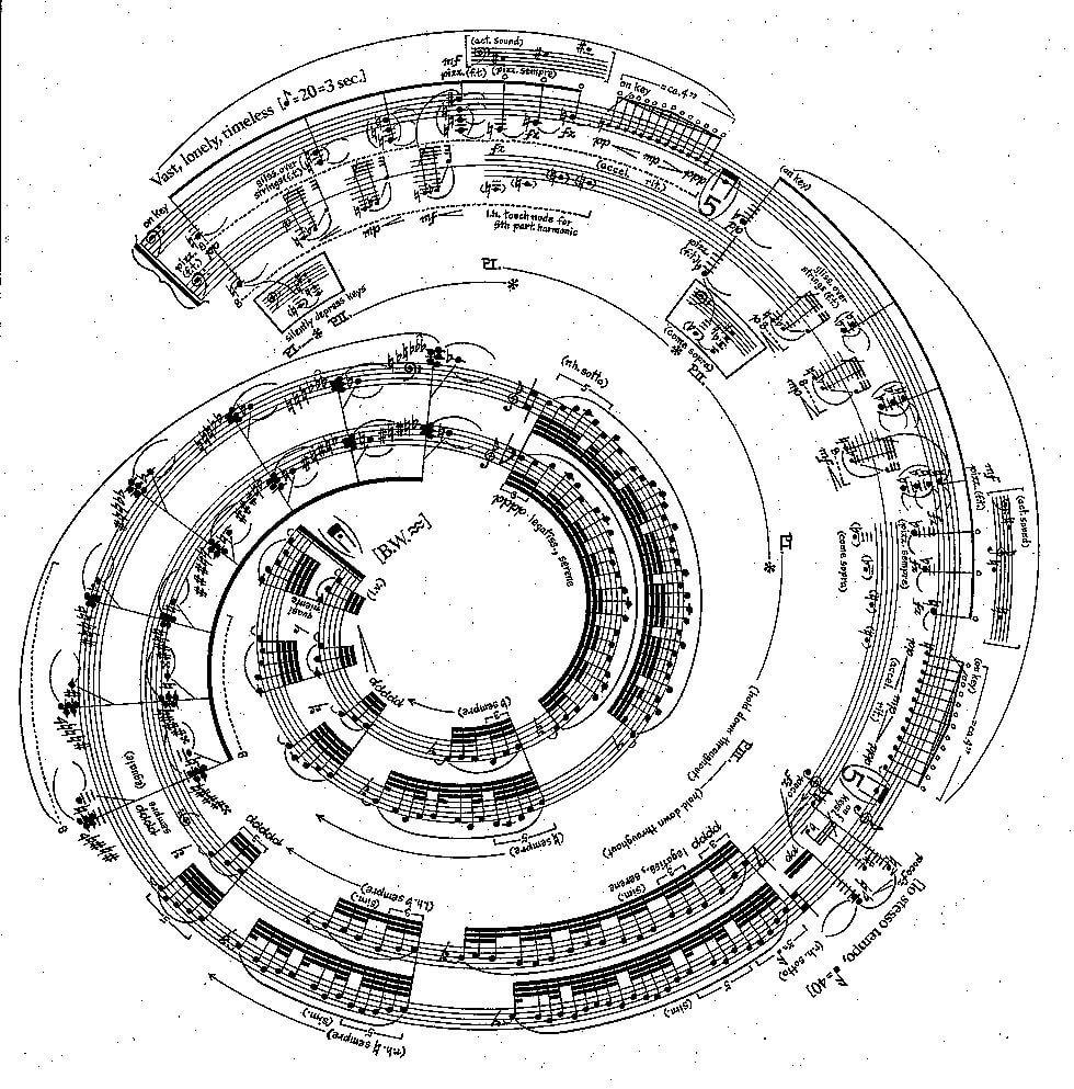 George Crumb: Spiral Galaxy, Aquarius