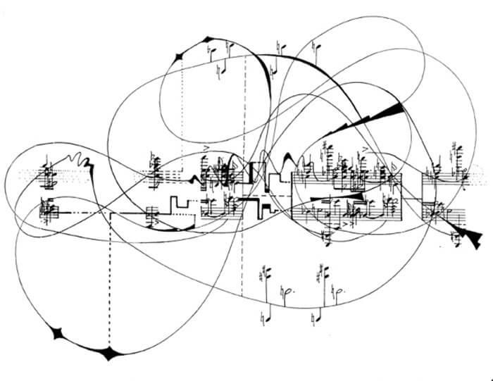 John Cage: Vizuális partitú