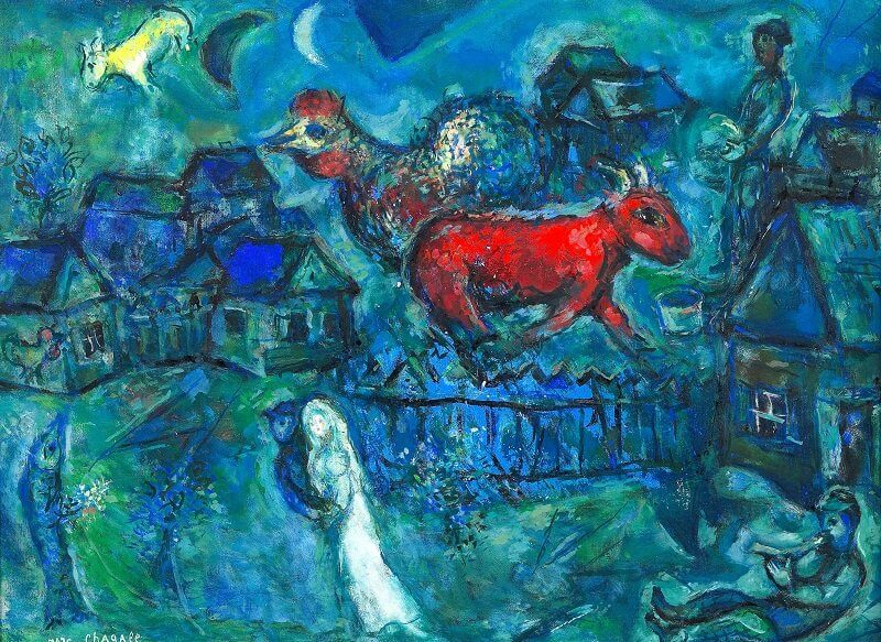 Marc Chagall: Mariés au Village, independent.co.uk