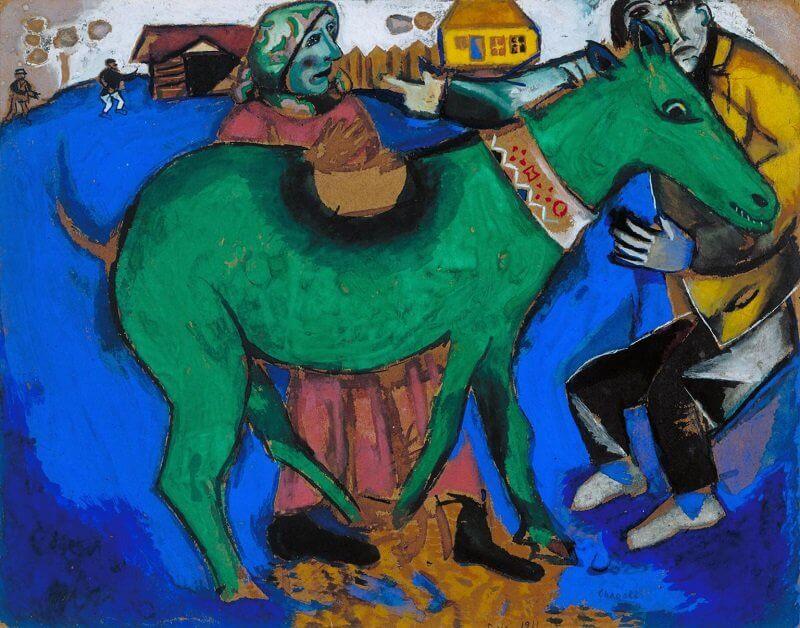 Marc Chagall: A zöld szamár, tate.org.uk