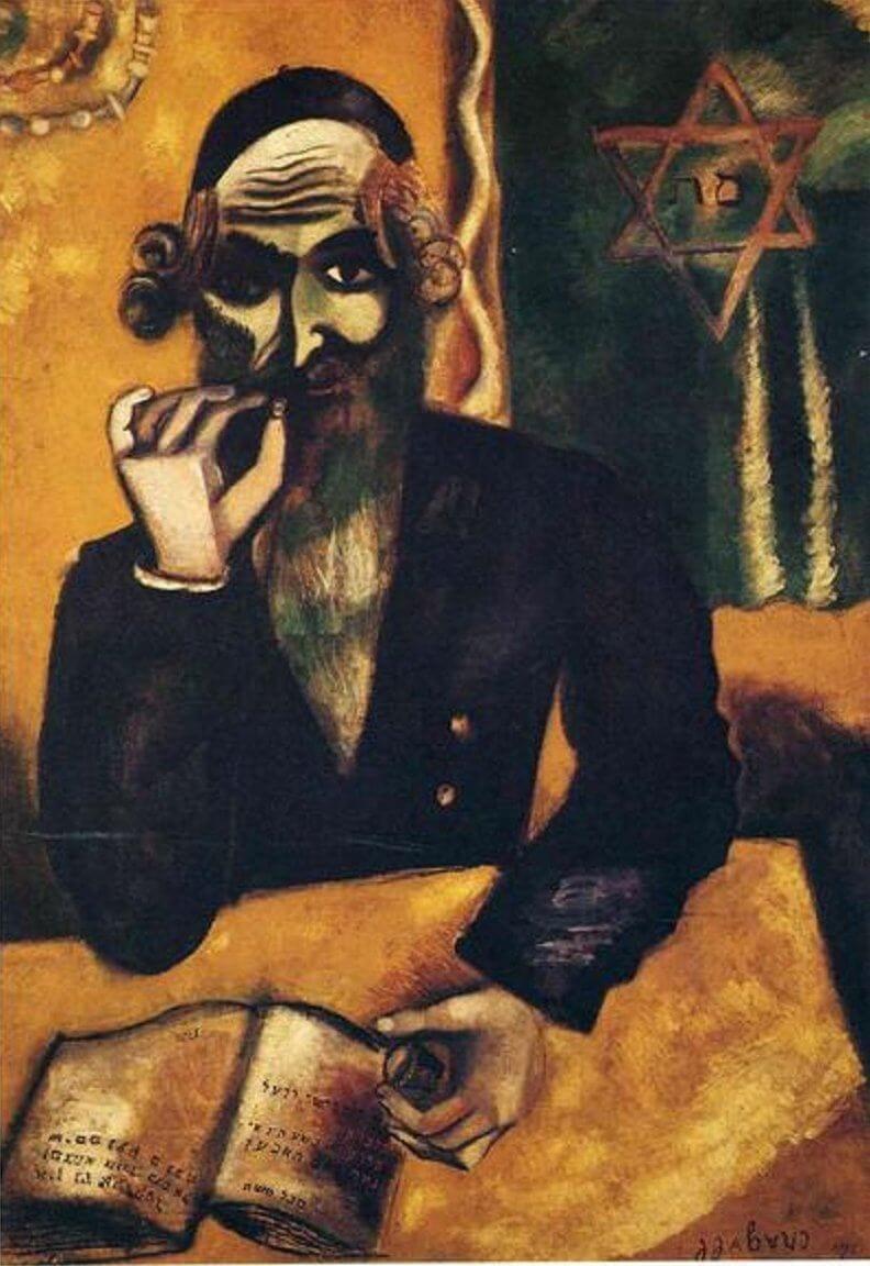 Marc Chagall: Egy csipetnyi tubák, wikiart.org
