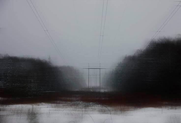 Maryia Ramanava: Erdő. Egy gyors pillantás, pinterest.com