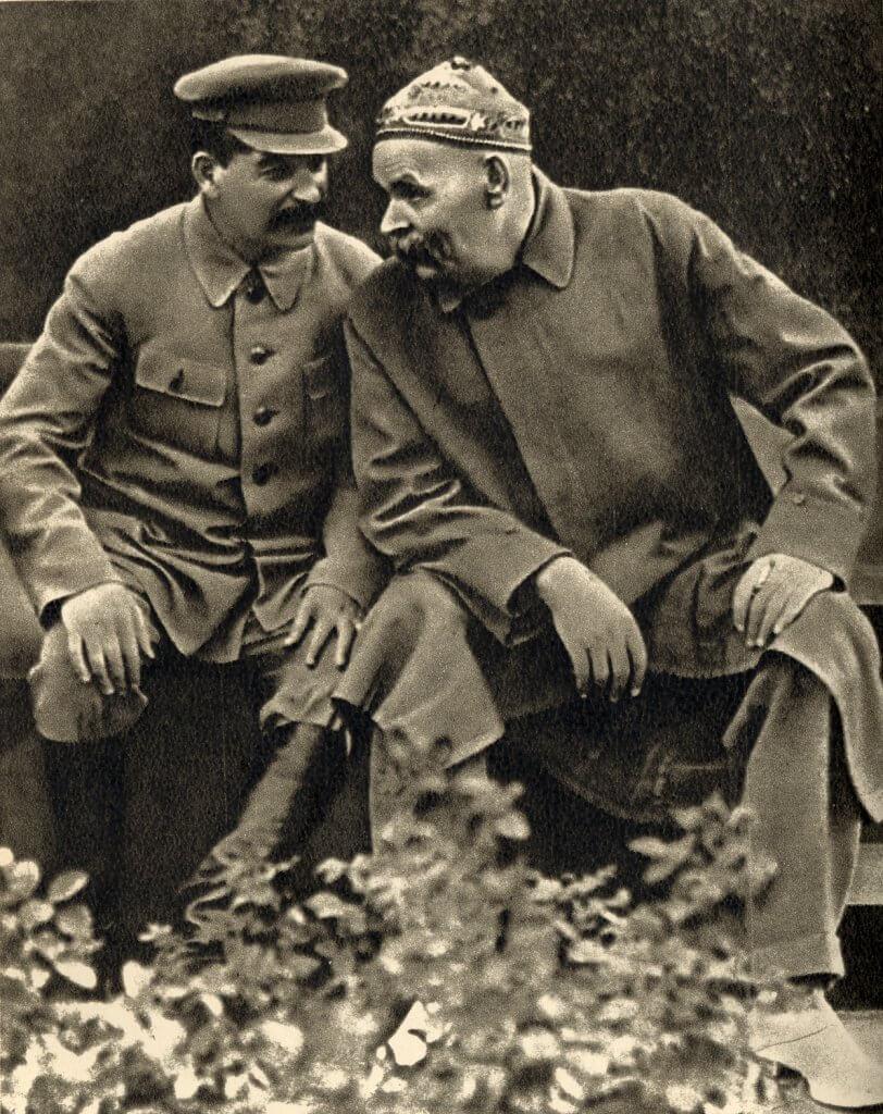 Sztálin és Gorkij, en.academic.ru