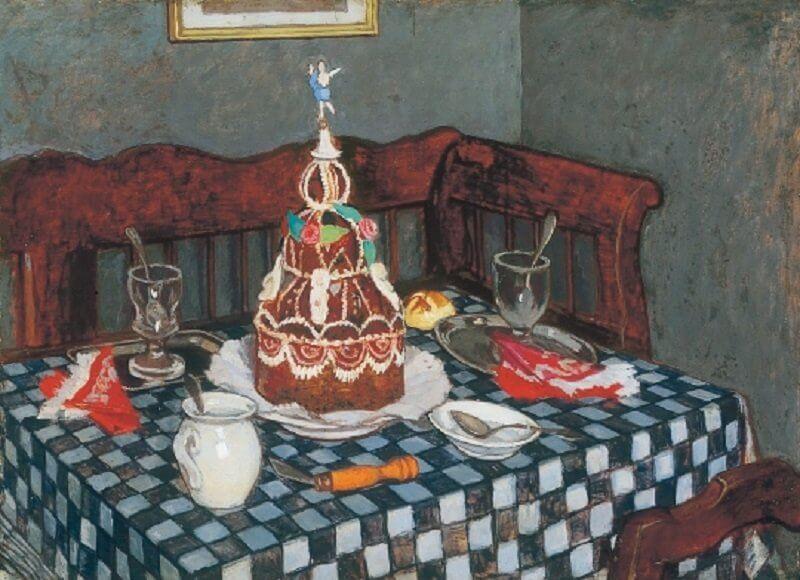 Fényes Adolf: A torta, viragjuditgaleria.hu