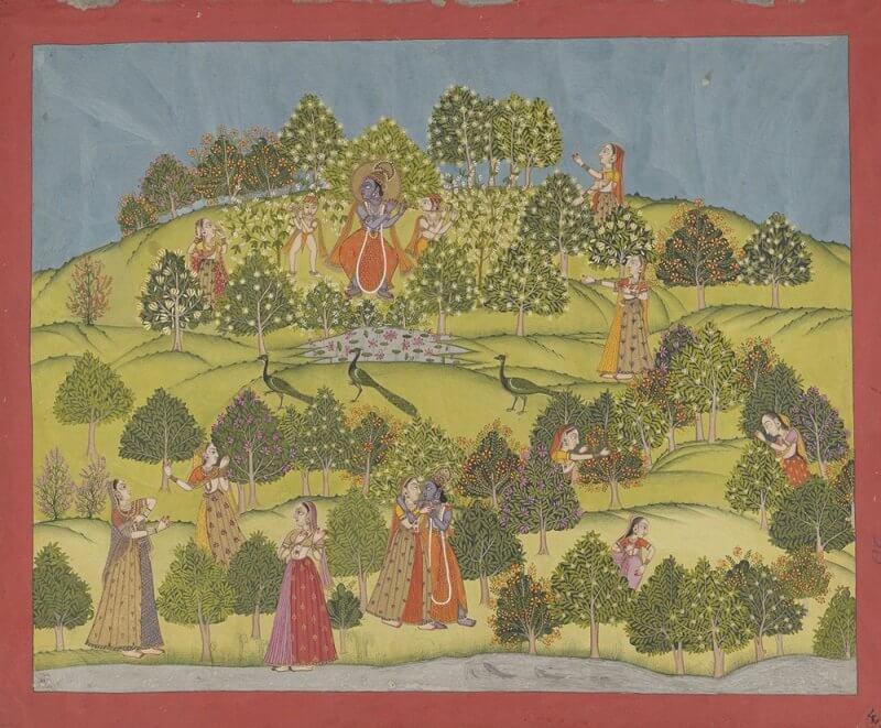 Krisna hölgyekkel a kertben, wikipedia. org