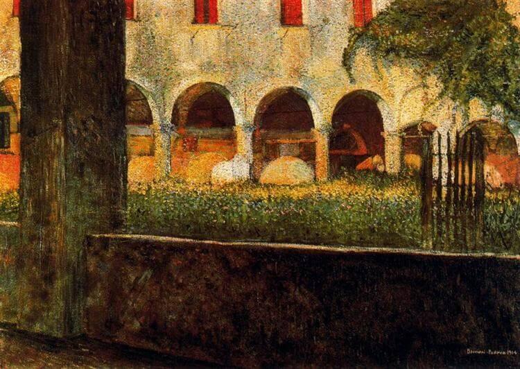 Umberto Boccioni: Szent Onofrio Kolostor