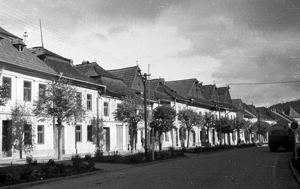 Késmárk, Fő utca (fortepan.hu)