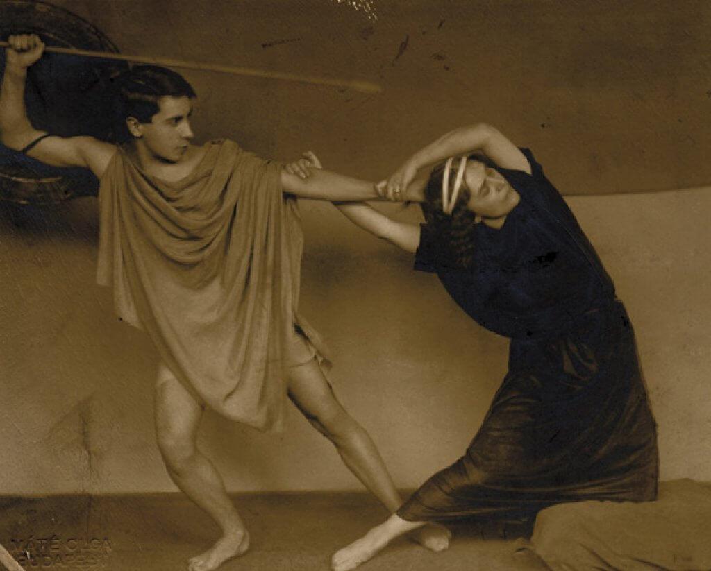 Markos György és Dienes Valéria táncol (1910-es évek)