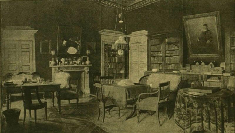 Kossuth dolgozószobája Torinóban, dka.oszk.hu